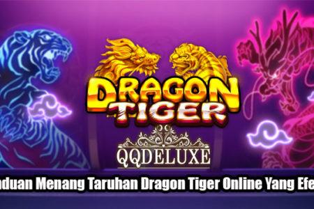 Panduan Menang Taruhan Dragon Tiger Online Yang Efektif