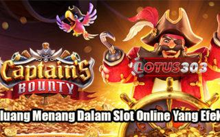 Peluang Menang Dalam Slot Online Yang Efektif